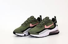 Мужские кроссовки Nike Air Max 270 React. Khaki. ТОП Реплика ААА класса., фото 3