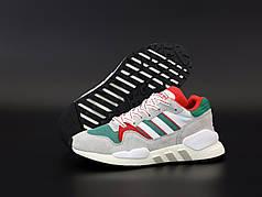 Мужские кроссовки Adidas EQT Multicolor. . ТОП Реплика ААА класса.