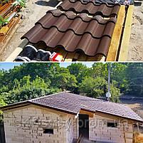 Металлочерепица АЛЬПИНА ALPINA 0.5мм матовый полиэстр Украина, фото 9