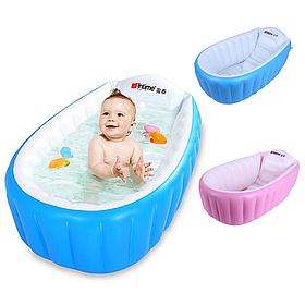 НАДУВНАЯ ВАННОЧКА INTIME BABY BATH TUB + НАСОС