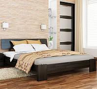 Деревянная кровать Титан из бука. Двуспальная или полуторная кровать из дерева