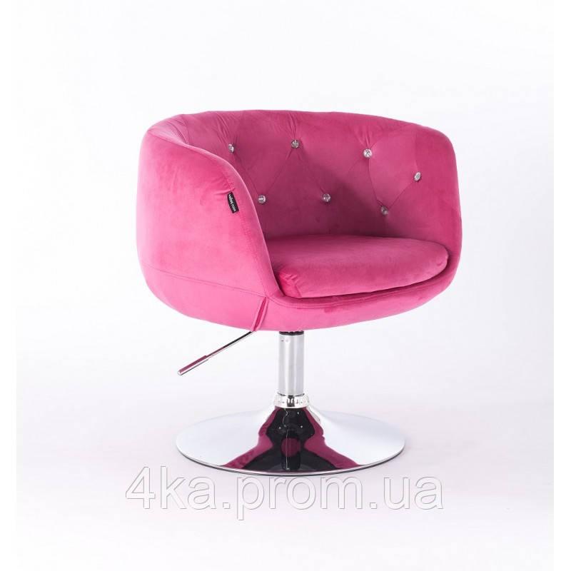Перукарське, косметичне крісло HC333N з кристаликами