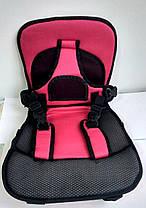 Дитяче автокрісло Multi Function Car Cushion Rose, фото 3