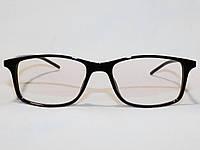 Очки в стиле Prada 9017B черный FLEX имиджевые разборная оправа для зрения