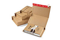 Упаковка для книг, липкая лента, №  290х250х60