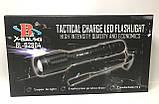 Тактичний ліхтарик підствольний Bailong BL Q2804 T6 50000W Pro ліхтарик 1000 Люмен Чорний, фото 8
