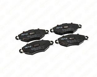 Дискові гальмівні колодки (передні) на Renault Kangoo 1997->2008 — Meyle - 0252198018