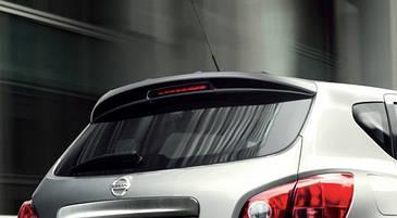 Спойлер заднего стекла Nissan Qashqai (2006-2014)