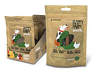 Лакомство для собак Croci HAPPY FARM. Курица со шпинатом 80 гр