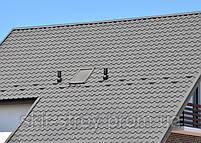 Металлочерепица Альпина 0,5мм матовый полиэстр Италия Marcegaglia, ZN225. Гарантия 20 лет, фото 4