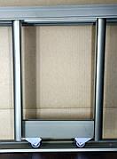 """Готовые размеры раздвижной системы шкафа купе """"Шампань"""" (бронза)"""