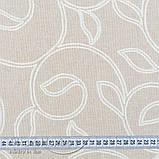 Штори в стилі Прованс Іспанія LEAVES Беж, арт. MG-SHT-100674, фото 3