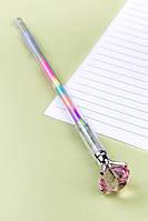 Ручка Бриллиант с разноцветными чернилами (розовый)