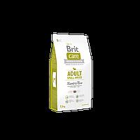 Сухой корм Brit Care Adult Small Breed Lamb & Rice для взрослых собак мелких пород с ягненком и рисом 7.5 кг