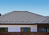 Металлочерепица Премиум 0,5мм U.S.Steel Словакия, ZN275, покрытие- High build. Гарантия 45 лет, фото 7