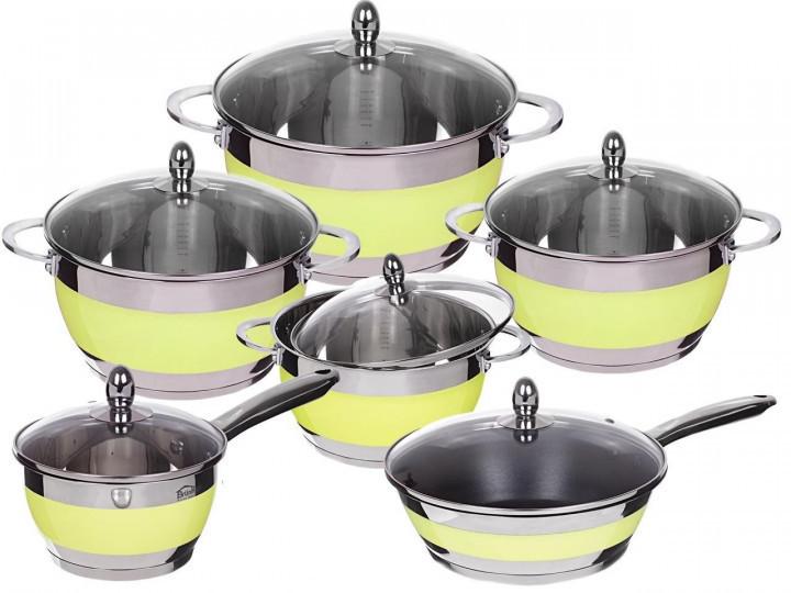 Набор каструль посуды Edel Hoff 12 предметов