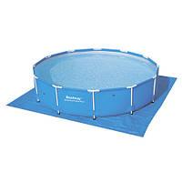 Подстилка Bestway, для бассейнов, квадратная, 58002