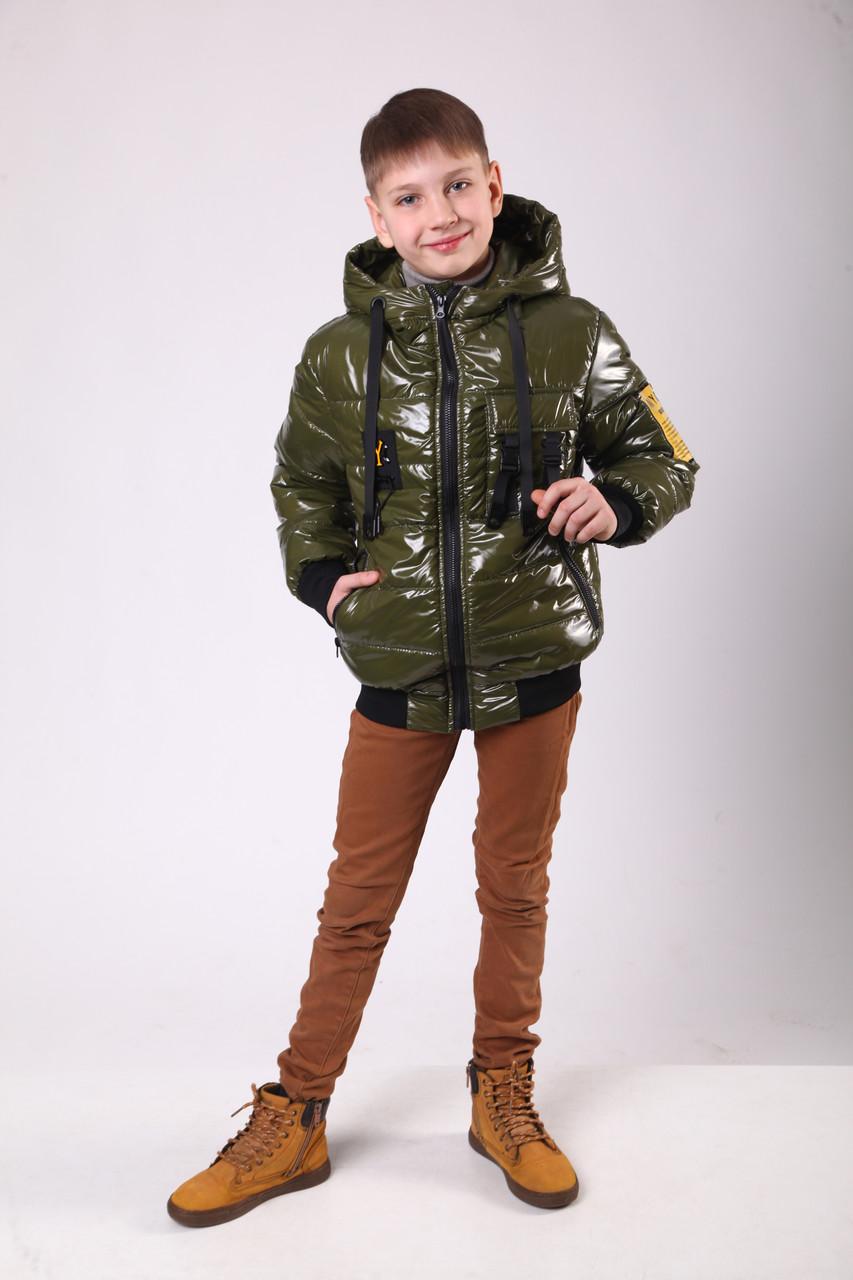 Куртка на хлопчика демісезонна 36-44 Хакі
