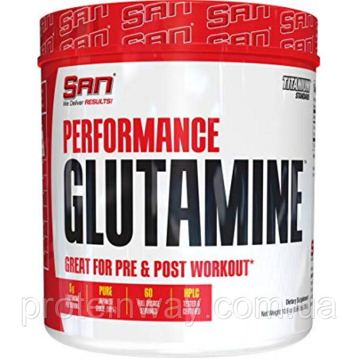 San Глютамин Performance Glutamine 300 г