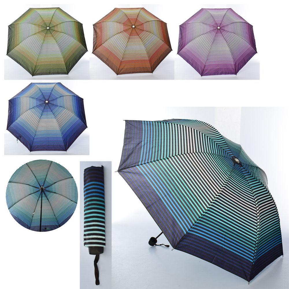 Механічний парасольку, тростина, мікс кольорів, складаний, MK4085-6