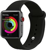 Ремешок UWatch Silicone Strap for Apple Watch 38/40 mm Black