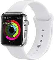 Ремешок UWatch Silicone Strap for Apple Watch 38/40 mm White