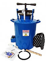 Автоклав бытовой электрический синий большой 0.5 л - 20 банок или 1.0 л - 12 банок