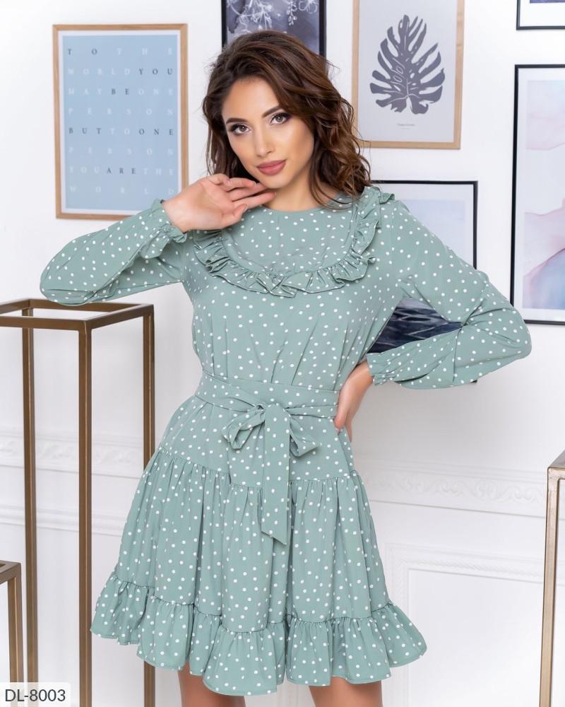 Сукня жіноча в горох новинка 2020