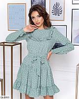 Сукня жіноча в горох новинка 2020, фото 1