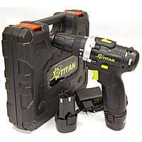 Двухскоростной шуруповерт Титан BDS12