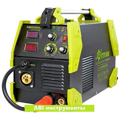 Зварювальний напівавтомат Титан PMIG260AL