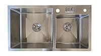 Кухонная мойка Galati Arta U-700D нержавейка, двойная