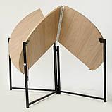 Стол раскладной круглый Тавол Пиланго D110 Дуб Сонома, фото 3