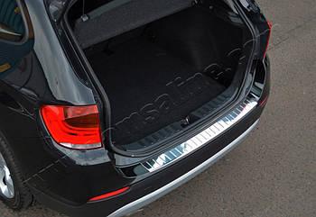 BMW X3 (F25) (2010-) Накладка на задний бампер - Матированный