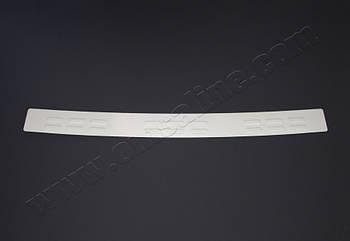Fiat Doblo (2000-) Накладка на задний бампер - Матированный