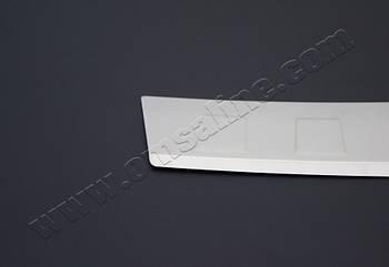Skoda Roomster (2007-) Накладка на задний бампер - Матированный
