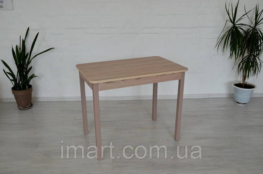 Стол Тавол Классик 93смх60смх75см ножки натуральное дерево прямые Ясень/Ясень