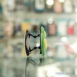 Держатель для телефона (попсокет, posocket) 3D [Лапа Зеленая/Желтая], фото 2