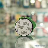 Держатель для телефона (попсокет, posocket) 3D [Лапа Зеленая/Желтая], фото 4