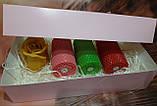 Набір свічок воскових подарунковий набір, фото 2