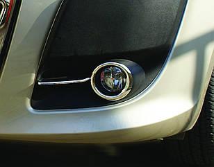 Fiat Doblo (2010-) Окантовка противотуманок 2шт