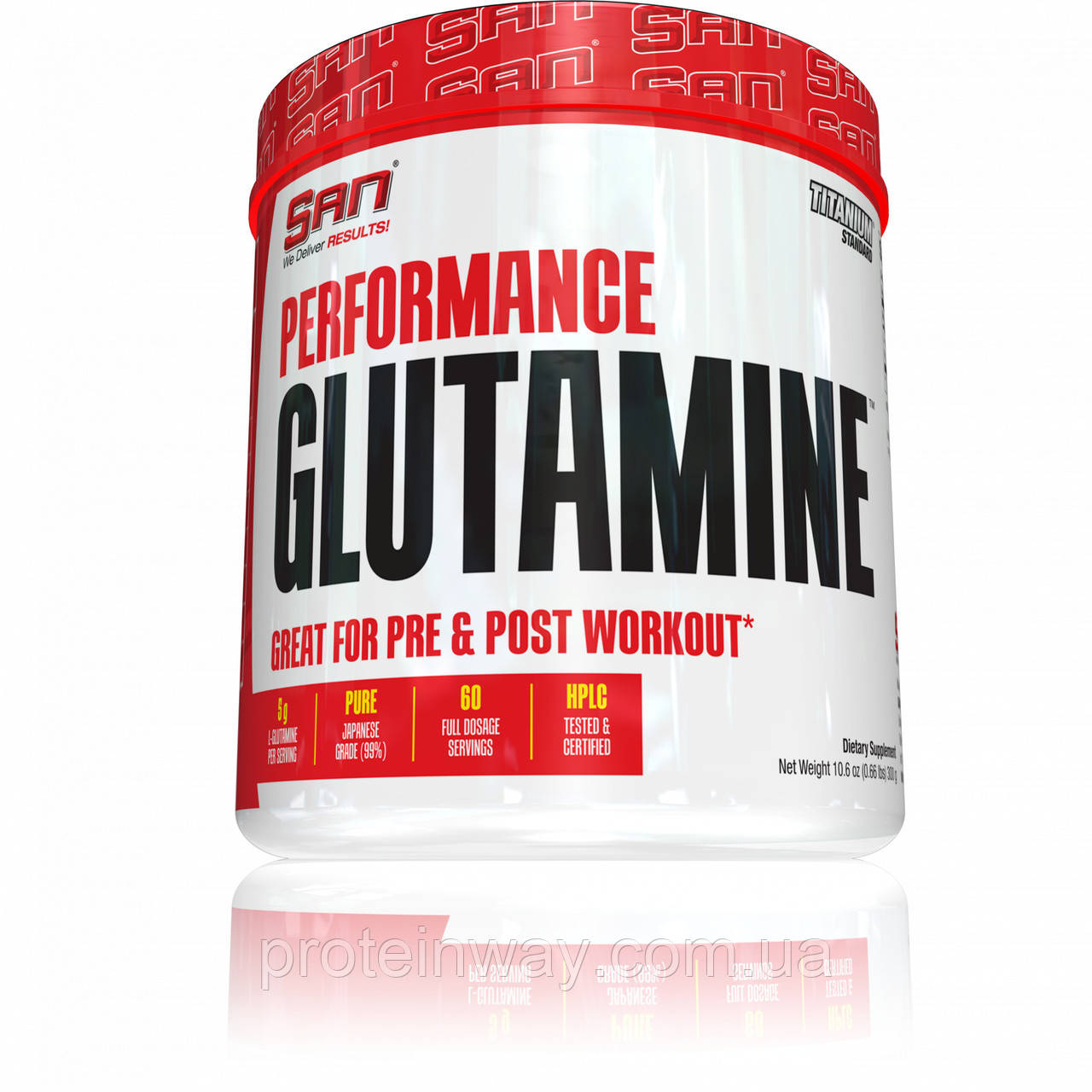 San Глютамин Performance Glutamine 1200 г