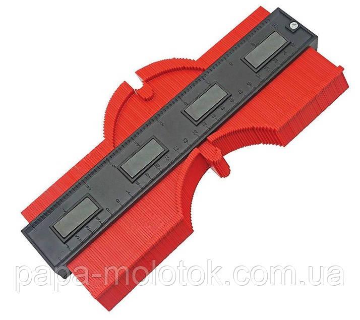 Лекало для зняття складних шаблонів, профільна лінійка 250 мм