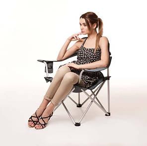"Кресло Алюм ""Берег"" d19 мм (серый), фото 2"