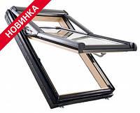 Двокамерні Мансардні вікно Roto Designo WDF R79 H WD AL Мансардные окна