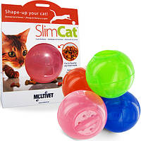 Универсальный шар-кормушка для котов Premier Slimcat
