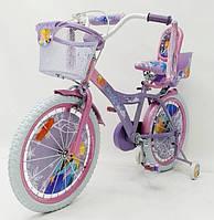 Детский двухколесный велосипед 19PS01-16 (от 5 лет) на 16 дюймов Ice Frozen, фото 1