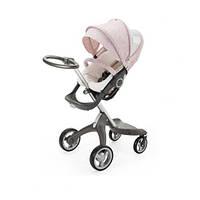 Летний комплект для коляски Xplory Stokke, розовый