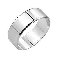 Серебряное обручальноекольцо Эдем 000129888 19.5 размер
