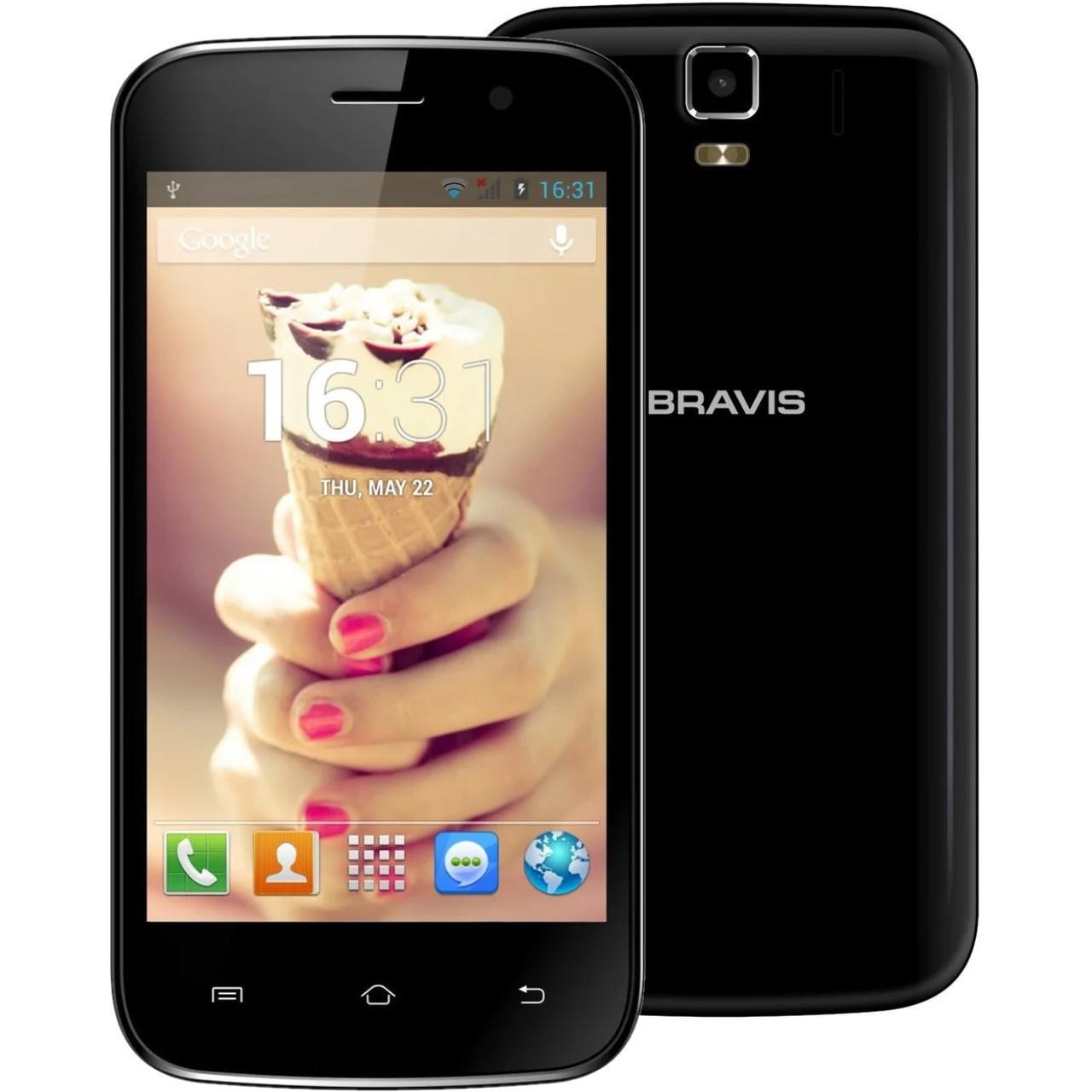 Смартфон Bravis Jazz 2-SIM Black